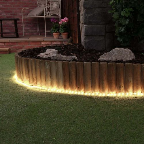 Cut to Length Outdoor & Indoor LED Rope Light Warm White